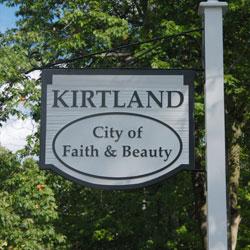 Kirtland Sign