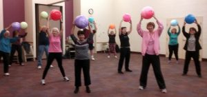 seniors aerobics