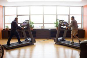 seniors treadmill