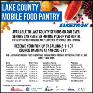 Laketran Mobile Food Pantry
