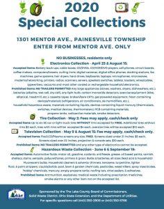 Icon of 2020 Special Collection Public Notice