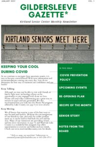 Icon of Kirtland Senior Center January