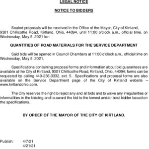 Icon of Legal Notice