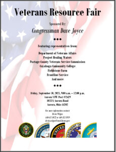 Icon of Veterans Resource Day Flyer 9.10.2021 Final Draft