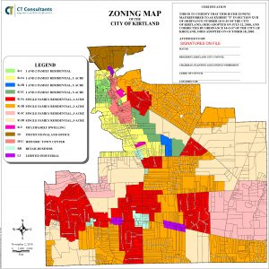 Icon of Zoning Map