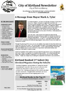 Icon of 2014 Fall Newsletter