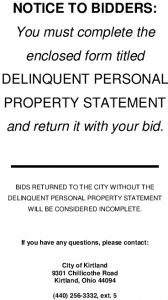 Delinquent-Property-Cover-Page