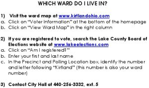Icon of Which Ward Do I Live In