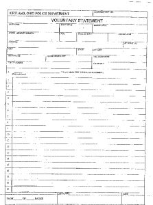 Icon of Witness Statement Form