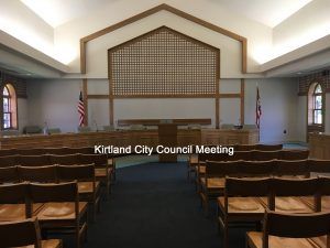City Council Meeting @ Virtual Meeting via Zoom