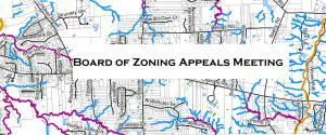 Board of Zoning Appeals Meeting @ Virtual Meeting via Zoom