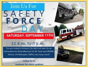 Safety Forces Day @ Kirtland City Hall